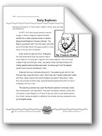 Early Explorers (Key Words/Topic Sentences)