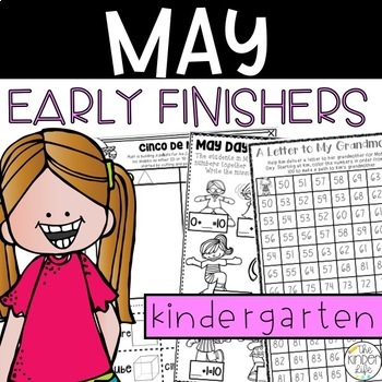 Early Finisher Journal: May Above & Beyond Kindergarten Di