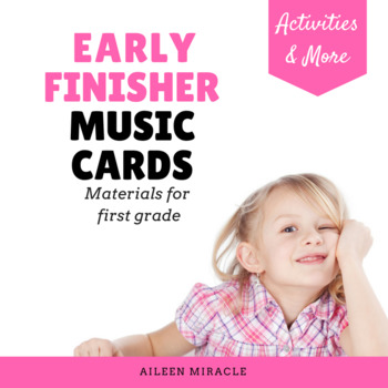 Early Finisher Music Cards {First Grade}