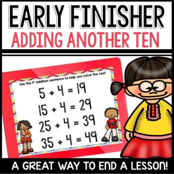 Early Finisher PPT Addition practice