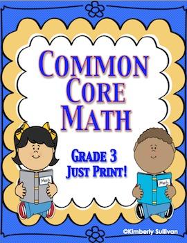 Common Core Morning Work No Prep Math Printables Grade 3