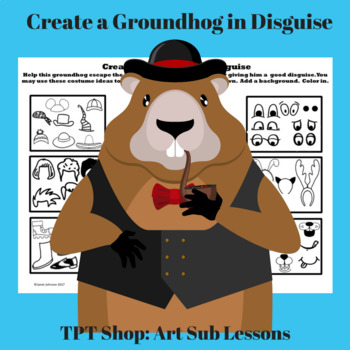 Early Finishers - Groundhog's Day - Create a Groundhog in