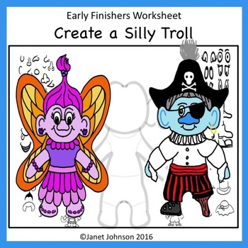 Early Finishers - Create a Silly Troll