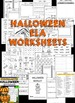 Halloween - Kindergarten Halloween Worksheets