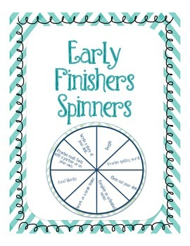 Early Finishers Spinners