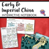 Early & Imperial China Interactive Notebook Unit 6th Grade