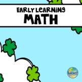 St. Patrick's Day--Preschool Early Learning Math Activities