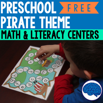 Early Learning Pirate Themed Games & Activities