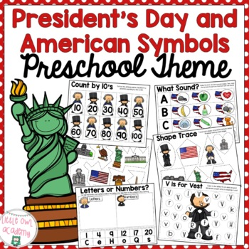 Early Learning Preschool President's Day Packet