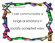 Early Learning and Content Standards-Social and Emotional
