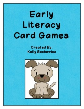 Early Literacy Card Games