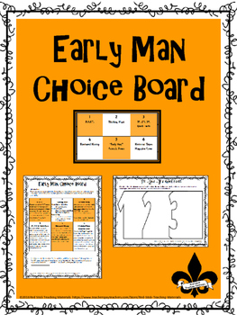 Early Man Choice Board