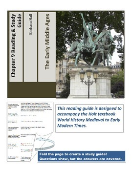 Early Middle Ages Reading and Study Guide