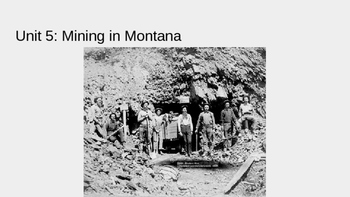 Early Mining in Montana