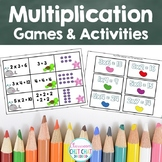 Multiplication Dice Games and Activities