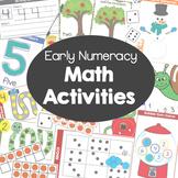 Early Numeracy Math Activities Kit