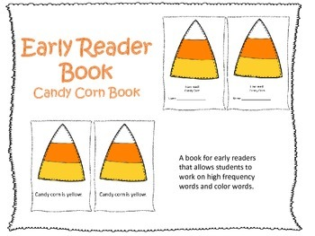 Early Reader Book: Candy Corn