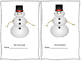 Early Reader Book: The Snowman