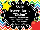 """Early Skills """"Clubs"""": Posters, Assessments, Recording Char"""
