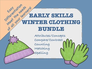 Early Skills Winter Bundle