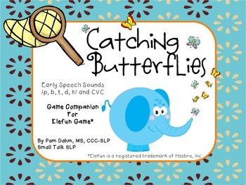 Catching Butterflies: Early Speech Sounds Game Companion f