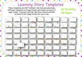 Early Years Learning Framework LEARNING STORIES PDF