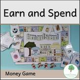 Earn and Spend Maths Australian Money Game