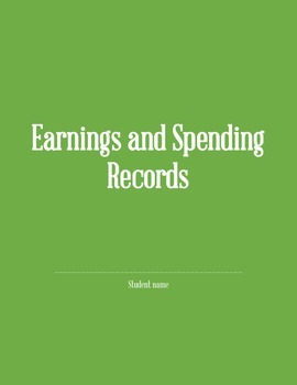 Earnings and Spending Records