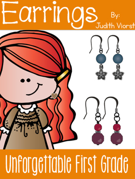 Earrings! {Realistic Fiction Mini Unit}