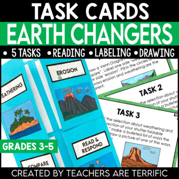 Earth Changers featuring  Erosion and Weathering