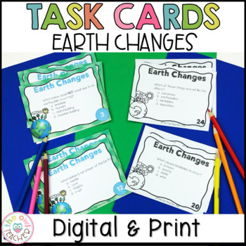 Earth Changes Task Cards