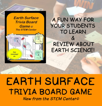 Earth Changes Trivia Board Game: Make Learning Fun!