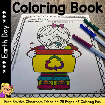 Coloring Pages for Earth Day