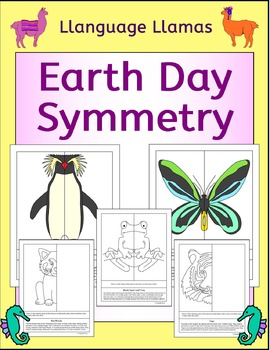 Symmetry - Earth Day - Endangered Species - NO PREP