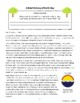 Earth Day History Informational Texts Activities Grade 8,