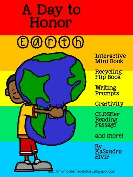 A Day to Honor Earth {Interactive Mini Book & More}