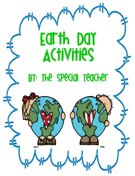 Earth Day Activities Pack