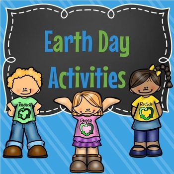 Earth Day Activities Packet