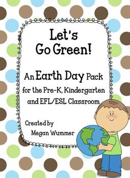 Earth Day Activity Pack for the Pre-K, Kindergarten and EF