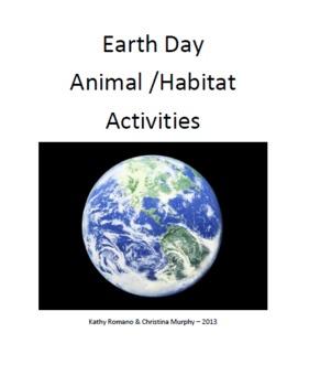 Earth Day: Animal and Habitat Activities