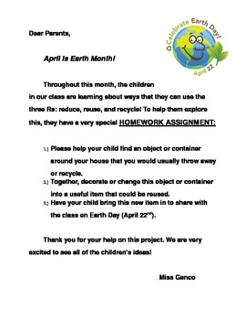 Earth Day Assignment