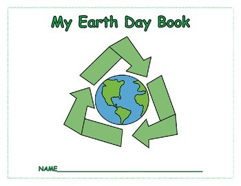 Earth Day Book (including seven activities, worksheets, an