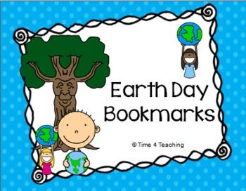 Earth Day Bookmark Freebie
