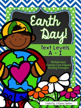 Earth Day!: CCSS Aligned Leveled Reading Passages and Activities