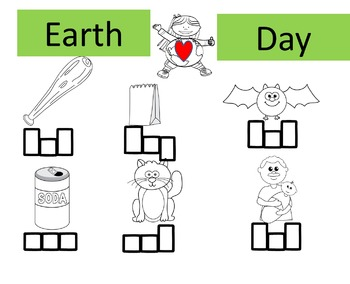 Earth Day CVC words