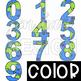 Earth Day Clip Art  Numbers 0-9 {jen hart Clip Art}