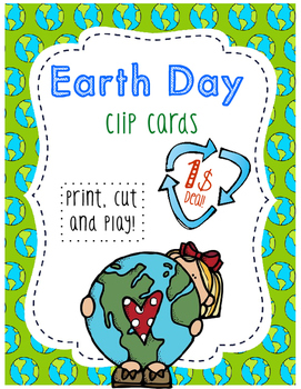 Earth Day - Clip Cards