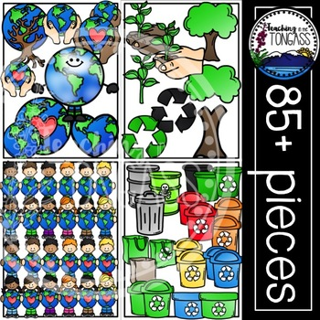 Earth Day Clipart Bundle