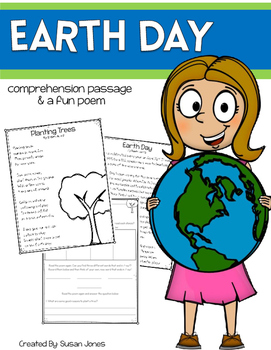 Earth Day Close Read and Poem