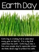 Earth Day & Conservation- Posters & Vocabulary